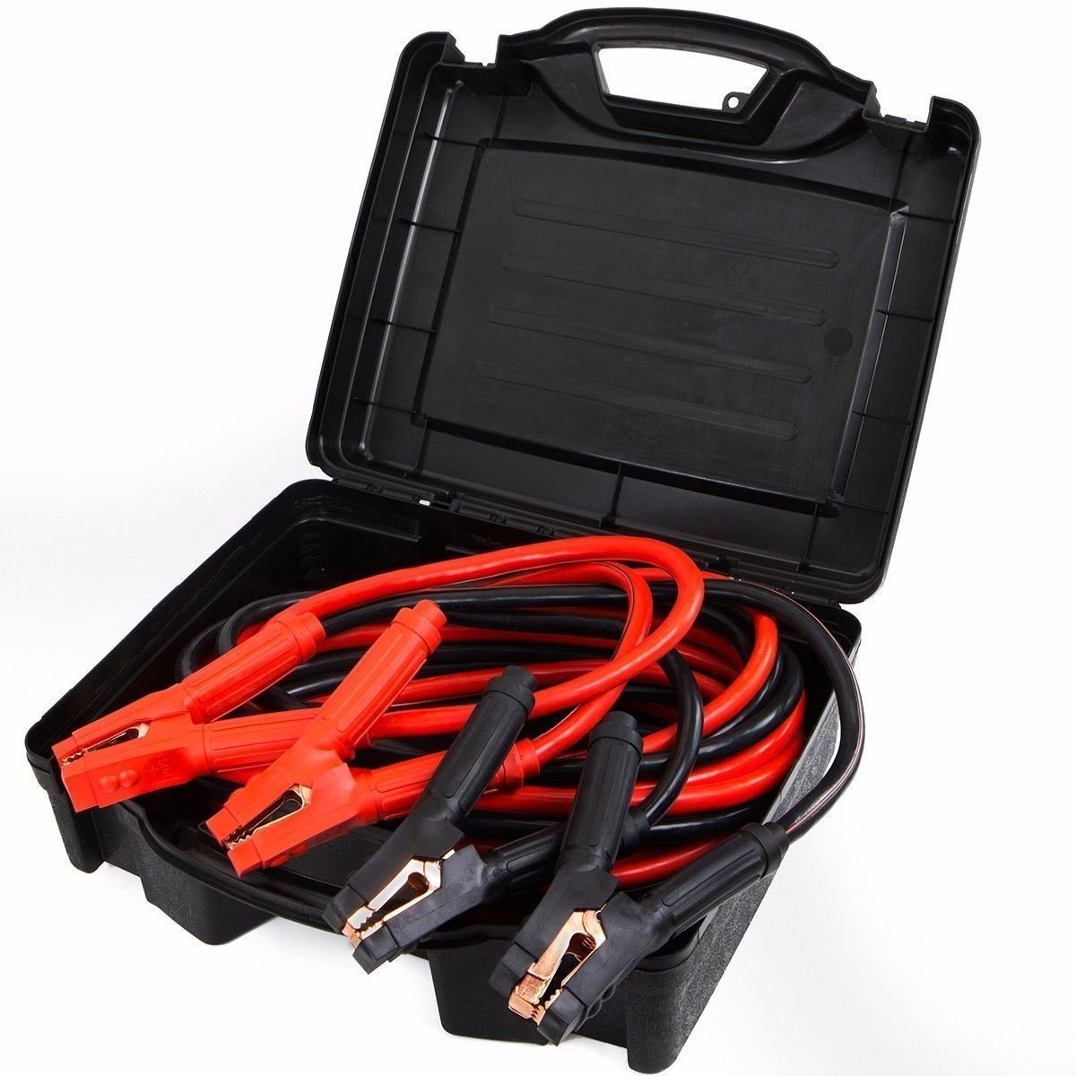 New Comercial Heavy Duty 25 FT 0 Gauge Booster Cable Cables Emergency Power Jumper MTN Gearsmith