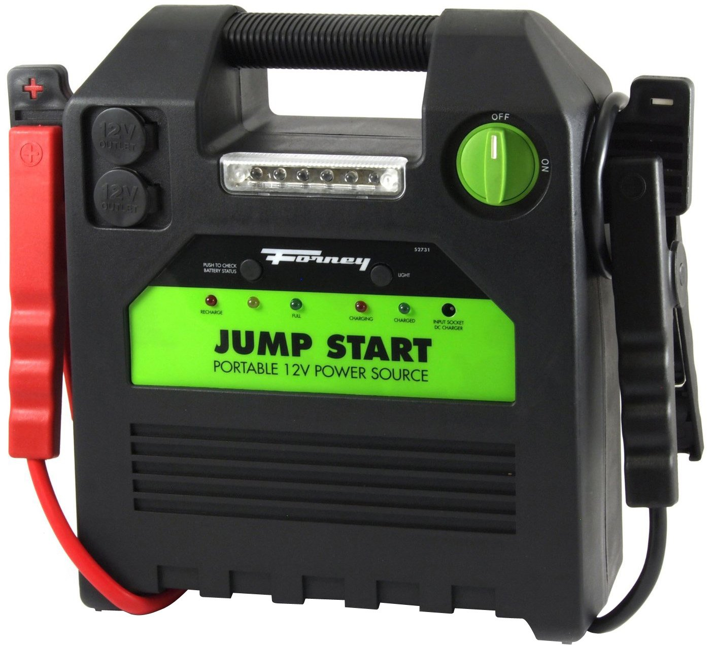 Forney 52731 Battery Booster Pack, 18-Amp Hour, 12-Volt Jump Start