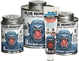 Millrose 76003 Monster Heavy-Duty Industrial Grade with PTFE, 8 Fl. Oz, Blue