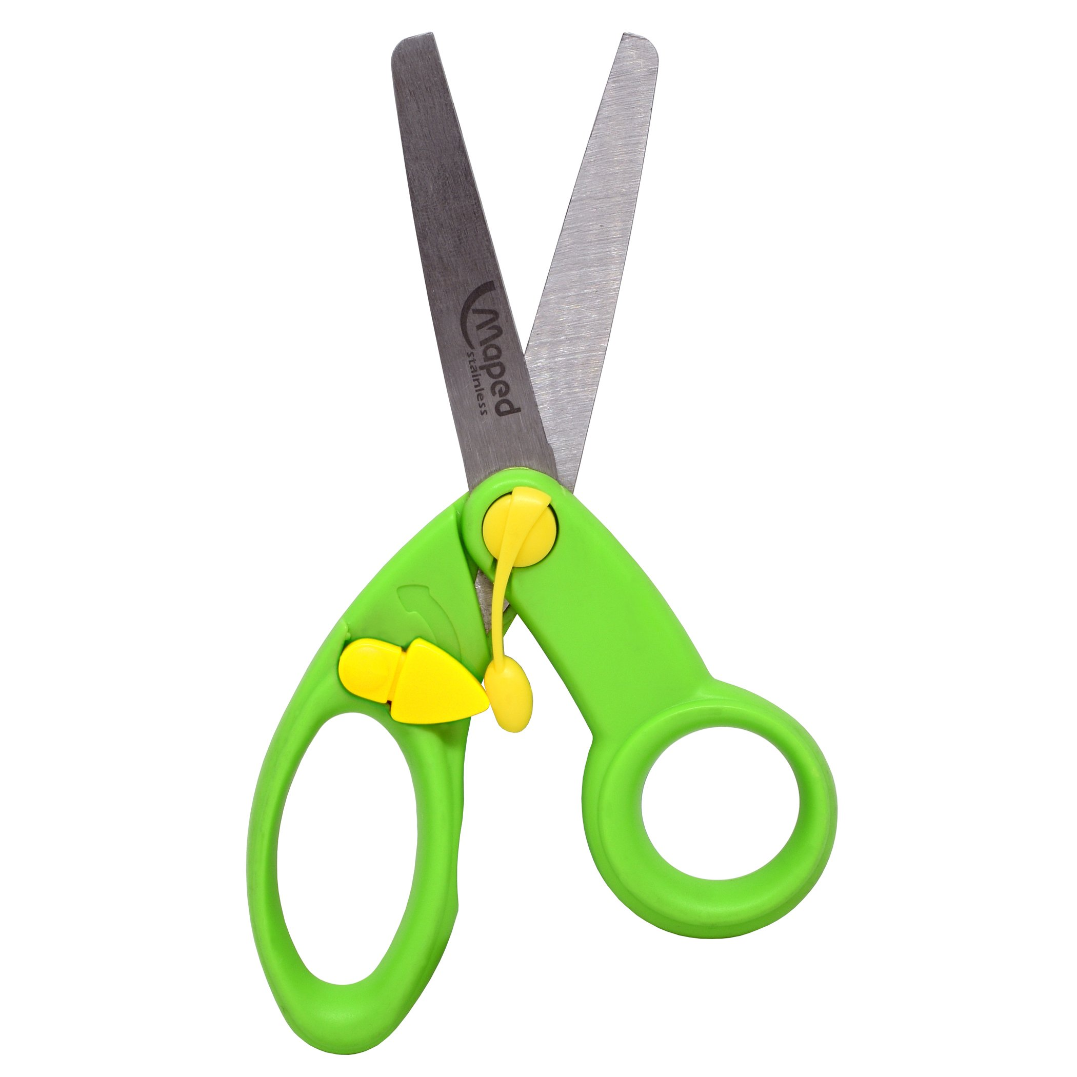 Maped MAP379249 Koopy Spring-Assisted Preschool Training Scissors, 5'' Length (Pack of 10)