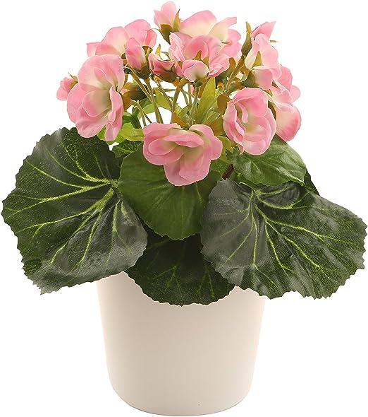 "Closer To Nature – Ramo de flores artificiales 7,5 ""rosa violeta ..."