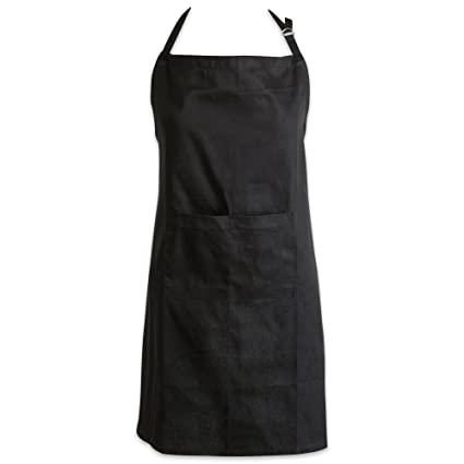 c6e3cd24087 DII Cotton Adjustable Plus Size Chef Apron with Pockets and Extra Long  Ties