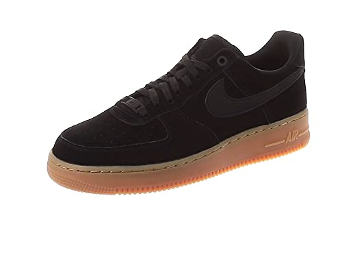 save off c90c3 a9d10 Nike Men s Air Force 1  07 Lv8 Suede Fitness Shoes, Multicolour Black Gum