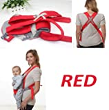 Pindia Fancy Red Kangaroo Style Baby Carrier