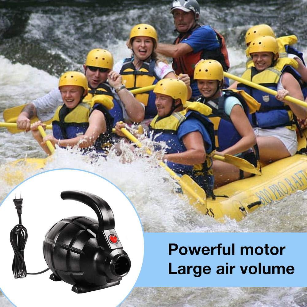 longrep 600W Pompe /À Air /Électrique Compresseur dair Portatif pour Bou/ée Lit Gonflable Bateau Gonflable Paddle Board Kayak 170140110mm