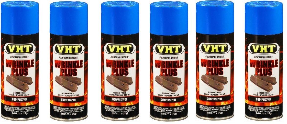 VHT SP206 Blue Wrinkle Finish Paint - 11 fl. oz. by VHT (6) by Vht Paint (Image #1)
