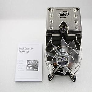 Intel Core I7 CPU Cooler Fan Heatsink Socket LGA 1366 Pc Cooling Fans E97381-001