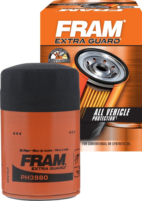 Fram PH3980 Extra Guard Passenger Car Spin-On Oil Filter Fram Group rm-FTA-PH3980