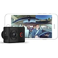 Garmin Dash Cam Tandem, Front and Rear Dual-Lens Dash Camera with Interior Night Vision, Two 180-degree Lenses, Front…