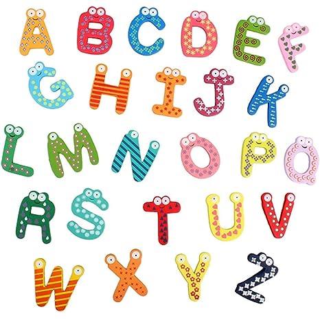 Amazon Zoooom 木製 アルファベット マグネット セット 可愛い
