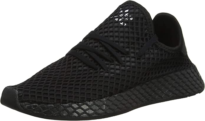 adidas Deerupt Runner Sneakers Fitnessschuhe Unisex Schwarz Größe 36 bis 47 1/3