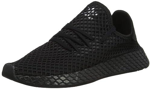 brand new 8c1ff 85ce0 adidas Deerupt Runner J, Scarpe da Ginnastica Unisex Bambini, Nero Core  Black Ftwr