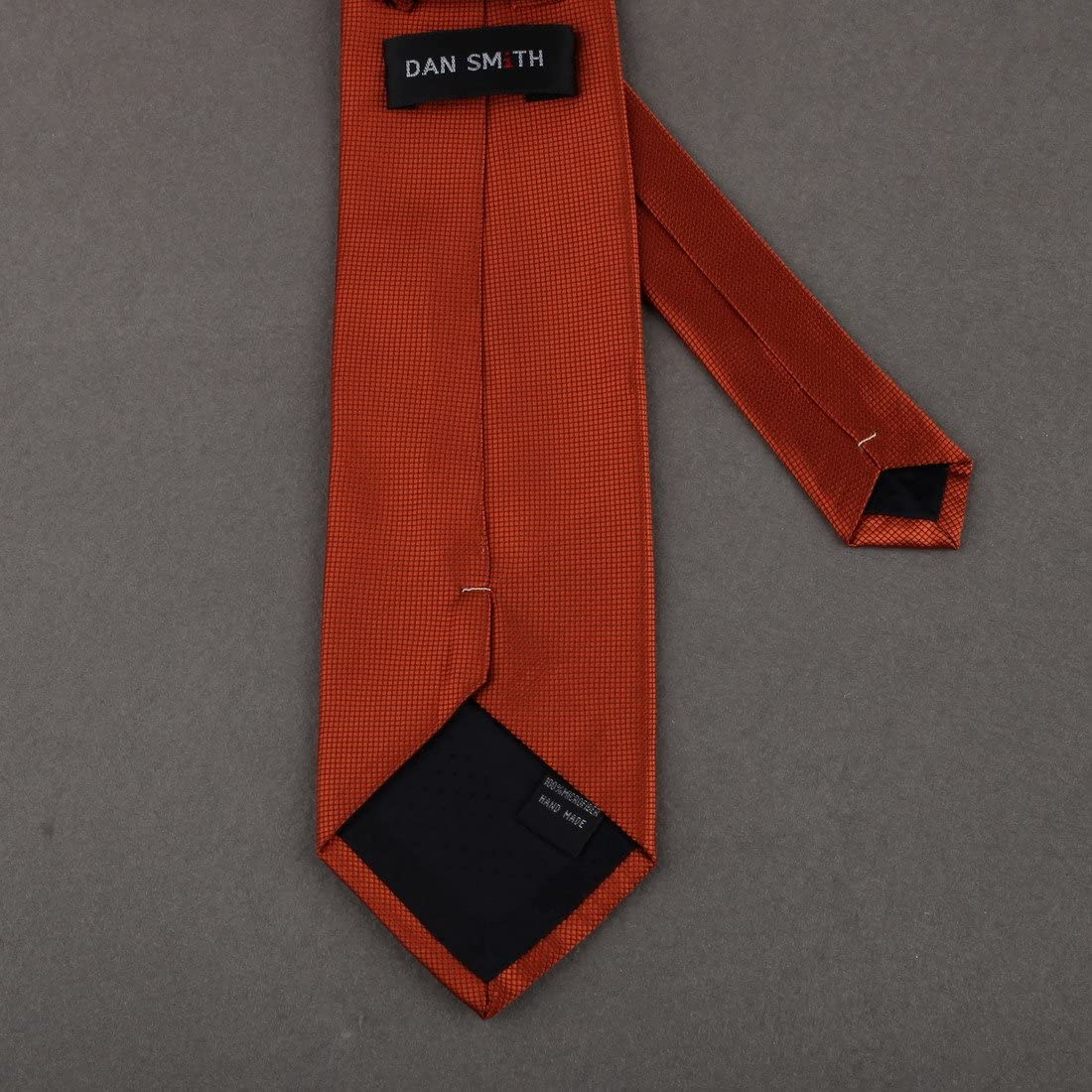 DAE2044 Fantastic Design Dim Grey Handmade Gift Slim Necktie With Present Box Set