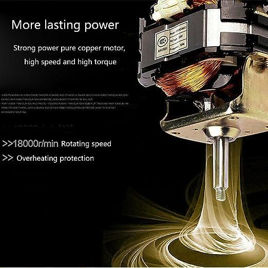 LXDHFED 200 W 0.6L multifuncional extractor de expri-midor eléctrico para uso doméstico máquina de alimentos Ice Crasher Meat Mincer fabricante de jugo de ...