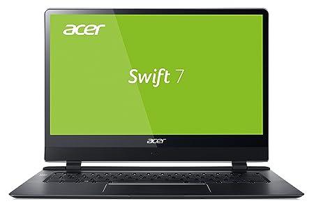 Acer Swift 7 SF714-51T-M97L 35,6 cm (14 Zoll Full-HD IPS Multi-Touch) Ultrabook (Intel Core i7-7Y75, 8GB RAM, 256GB SSD, Inte