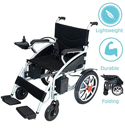 Amazon.com: Culver – Silla de ruedas eléctrica plegable ...