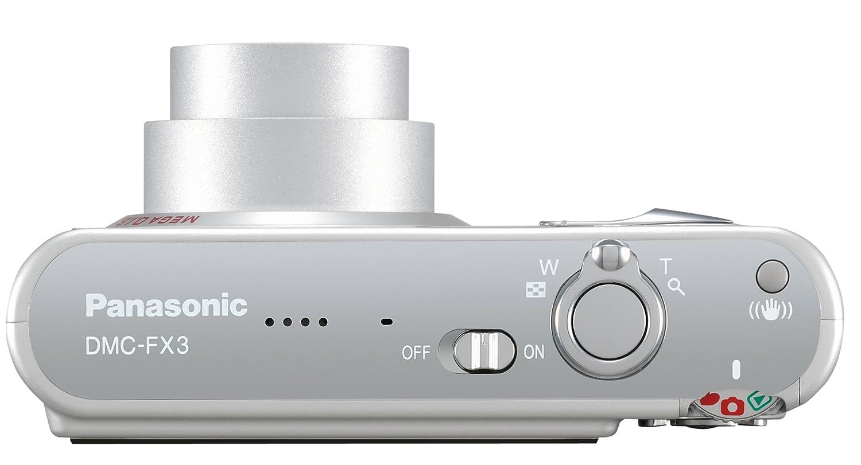 amazon com panasonic dmc fx3s 6mp digital camera with 3x optical rh amazon com panasonic lumix dmc-fx3 instruction manual panasonic lumix dmc-fx3 manual
