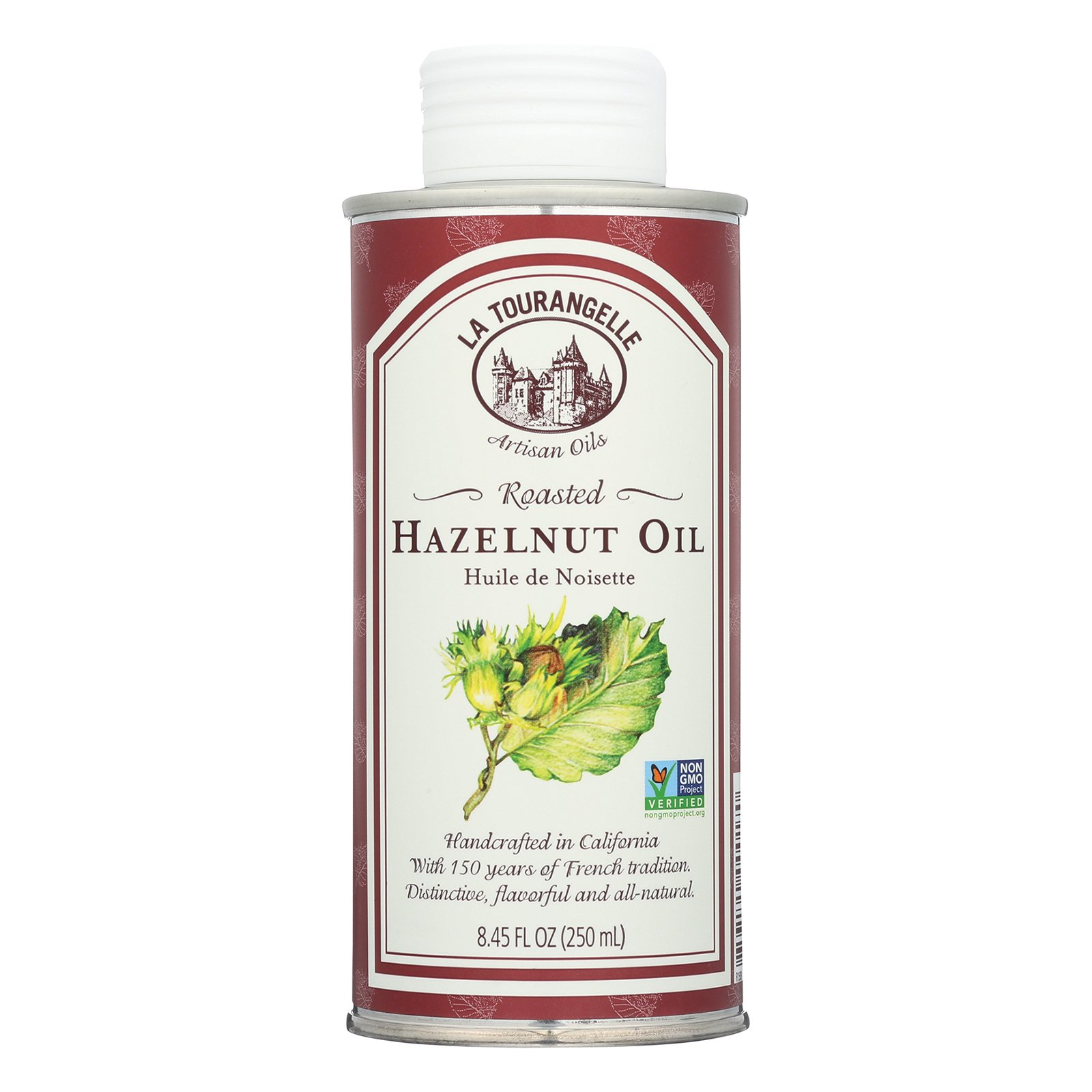 La Tourangelle Roasted Hazelnut Oil - Case of 6 - 8.45 Fl oz. by La Tourangelle