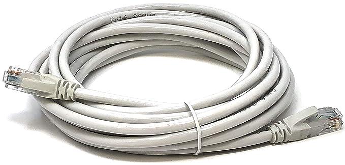 17 opinioni per Mr. Tronic 5 metri Cavo di Rete Ethernet 5m | CAT5E, AWG24, CCA, UTP, RJ45 |