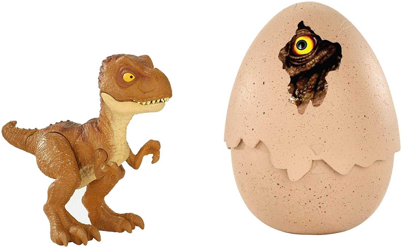 Mattel Jurassic World FMB93 - Schlüpfender Dino Tyrannosaurus Rex