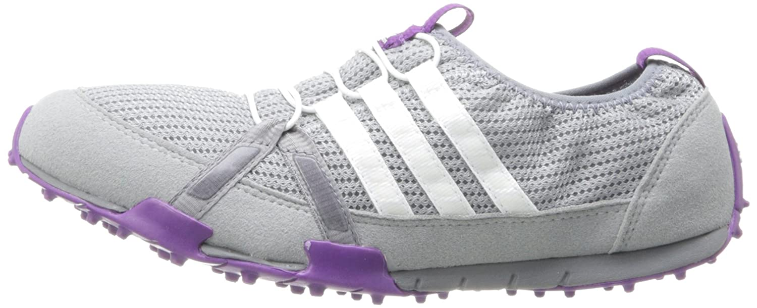 ADIDAS LADIES CLIMACOOL BALLERINA GOLF SHOES GREYPURPLE