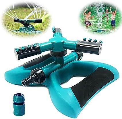 JR6034 1//2 DN15 Flow Garden Lawn 360 Rotating Impact Sprinkler Sprayer