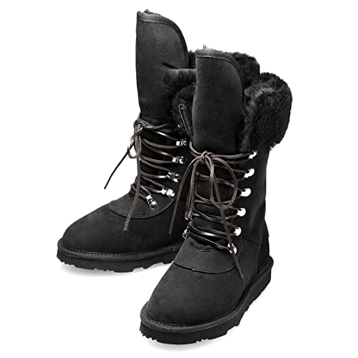 Women's Viva K Premium Australian Twin-Faced Sheepskin Winter Boot
