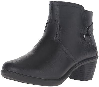 Easy Street Women's Dawnta Ankle Bootie, Black, ...