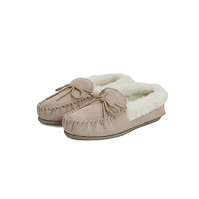 Eastern Counties Leather - Chaussons mocassins avec doublure en laine - Enfant 7P3wScA