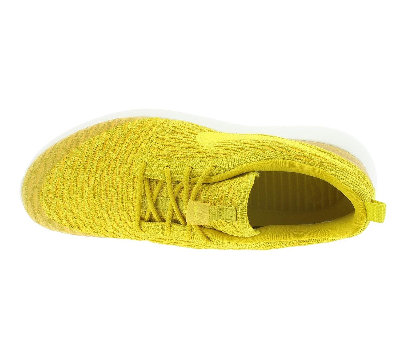 NIKE Damen WMNS Roshe One Flyknit Fitnessschuhe, Yllw-unvrsty Gelb Golden (Gld Ld / Tr Yllw-unvrsty Fitnessschuhe, Gld-sl) ca71b1