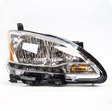 TYC 20-6523-00-9 Nissan Sentra Right Replacement Head Lamp