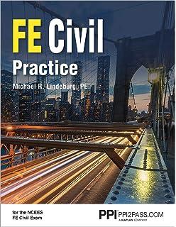 FE Civil Review: Michael R  Lindeburg PE: 9781591265290: Amazon com