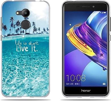 DIKAS Funda para Huawei Honor 6C Pro/Honor V9 Play Silicona ...