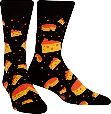 Calcetín It To Me - Calcetines De Hombre TANGA Queso Theory - Divertido Calcetines de hombre, Happy Socks stinkender Queso käsesocken T. gr.42-47 talla única: Amazon.es: Ropa y accesorios