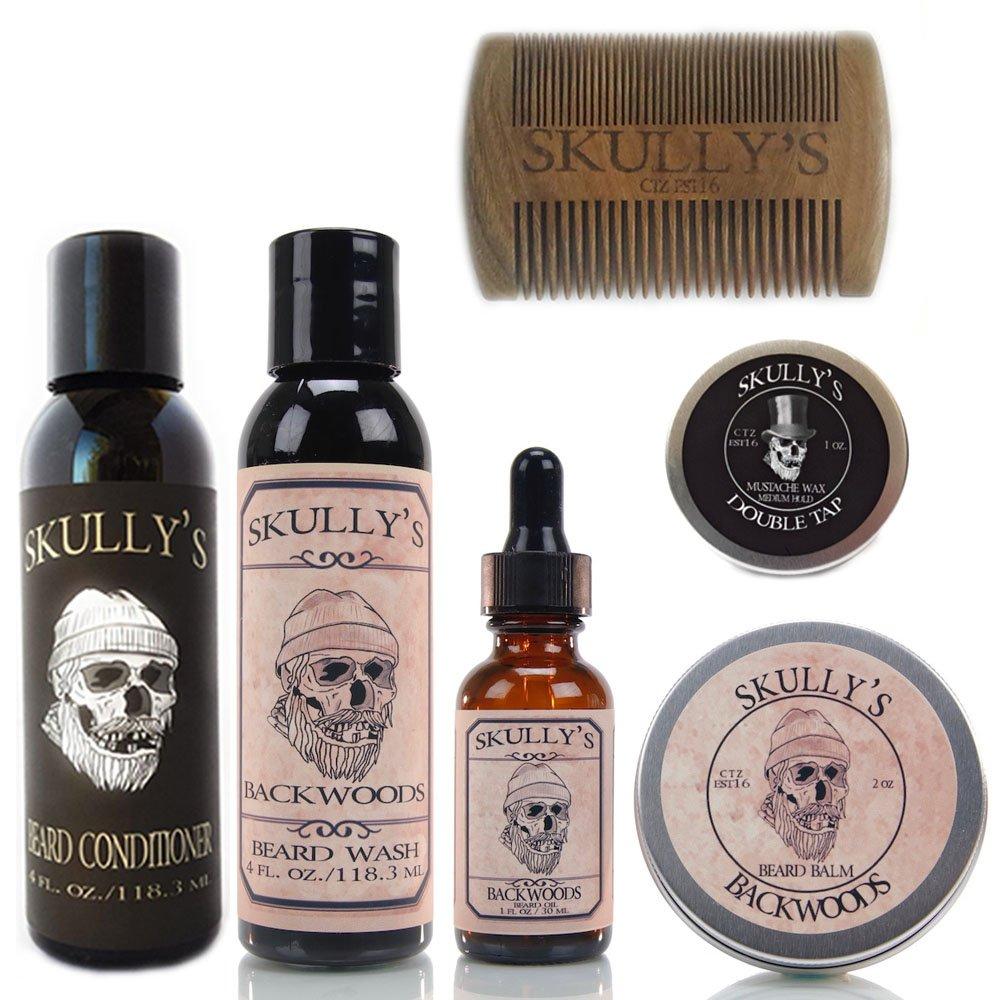 Skully's Ultimate Beard Care Kit, beard kit for men