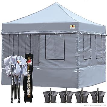 Abccanopy Food Vendor Tent 10x10 Food Vendor Booths 10x10 Food Service Canopy (gray)  sc 1 st  Amazon.com & Amazon.com : Abccanopy Food Vendor Tent 10x10 Food Vendor Booths ...