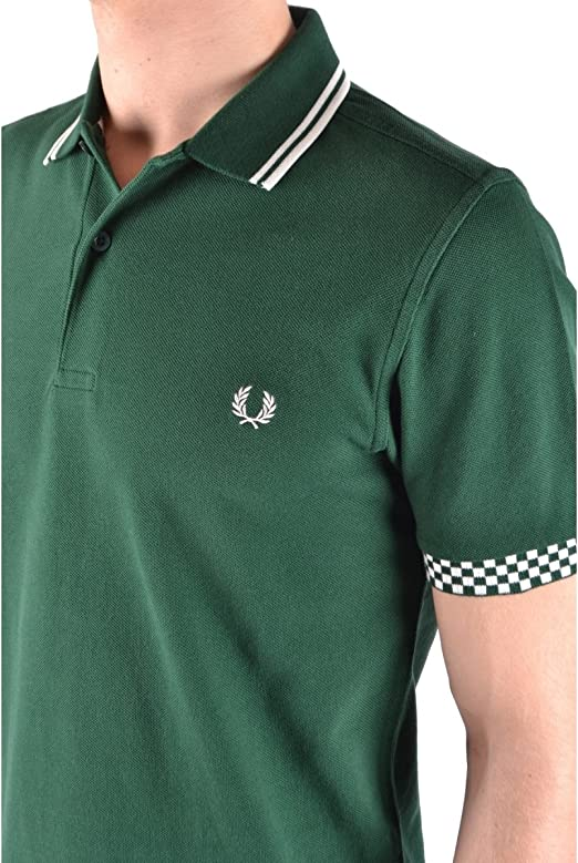 Fred Perry M1573, Polo para Hombre, Verde (Ivy 426), X-Large ...