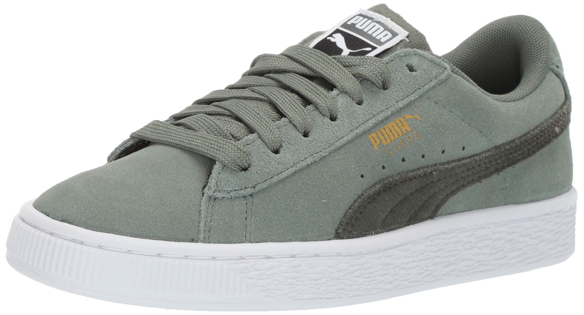 PUMA Unisex Suede Classic Kids Sneaker, Laurel