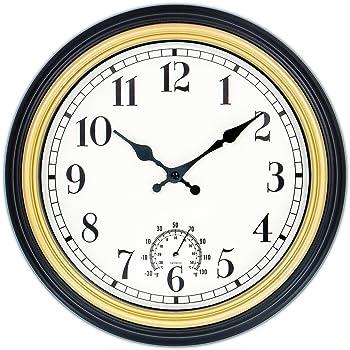 45Min 12 Inch Waterproof Modern Wall Clock