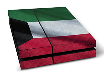 Sony playstation 4 design skin flag of kuwait decal sticker for playstation 4