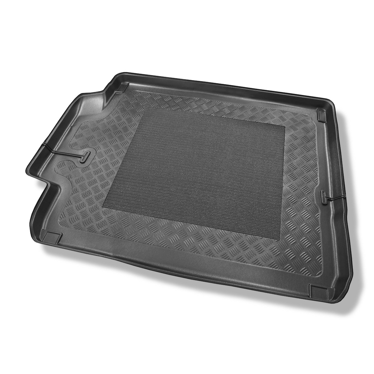 Fits perfectly Odourless Mossa Car trunk mat 5902538570602 boot liner