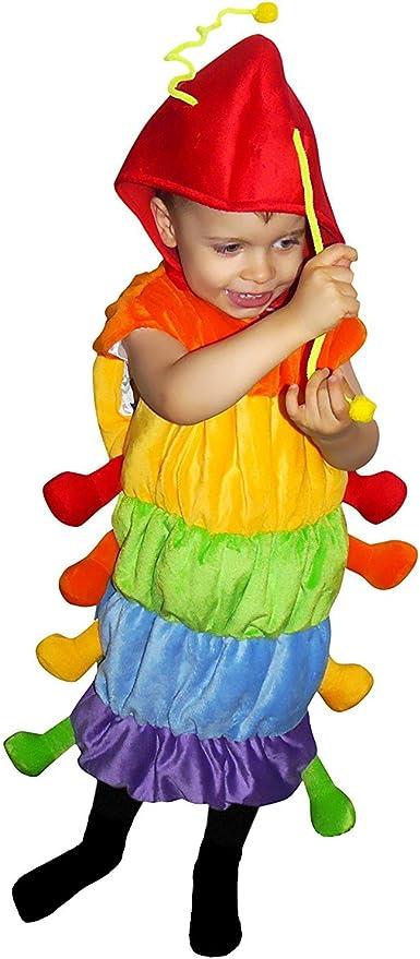 F83 Tamaño 5-6 años traje oruga para los niños, cómodo de llevar ...