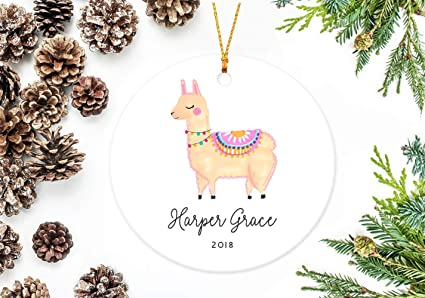 utf4c christmas ornaments 2018 llama christmas decor tree decoration baby decors