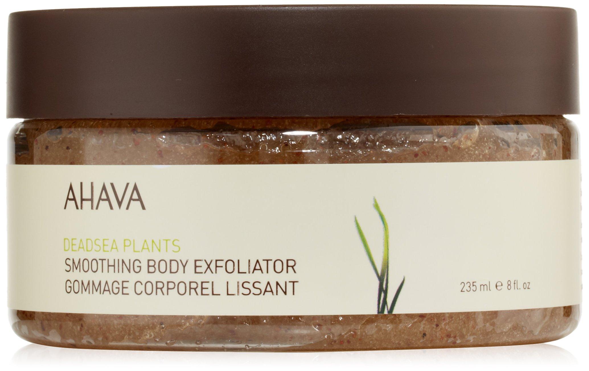 AHAVA Dead Sea Plants Smoothing Body Exfoliator, 8 fl. oz.