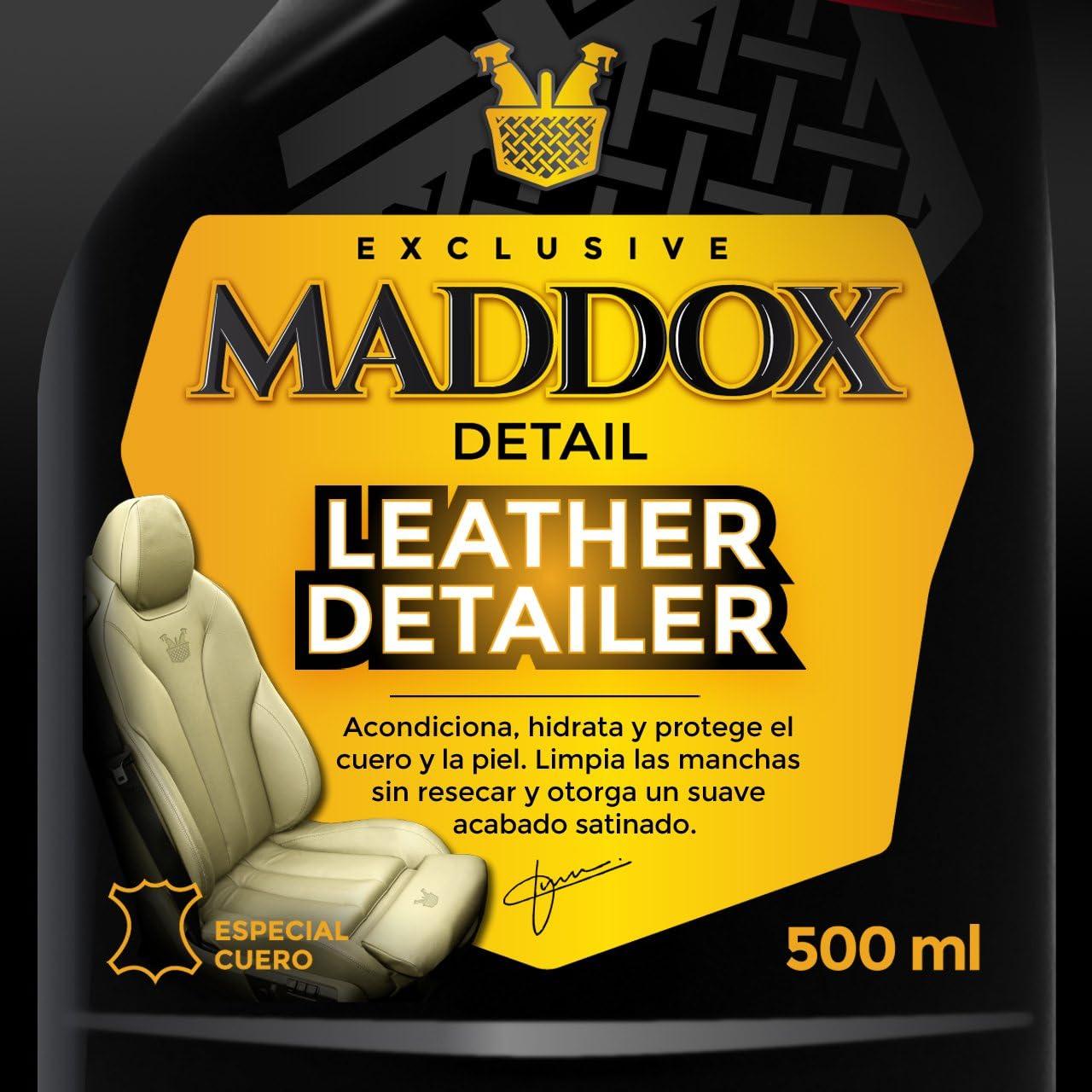 Maddox Detail - Leather Detailer - Limpiador De Cuero Y Piel, 500 ml