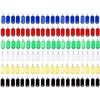 Vancool (120 unidades) Llavero identificador de plástico
