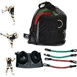 Wellsem Speed Agility and Strength Leg Resistance Jump trainer ( Taekwondo Fitness Exercise Tool Equipment )