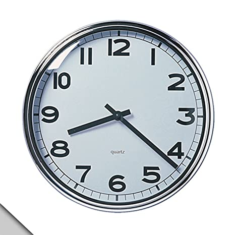 IKEA – PUGG reloj de pared, cromado