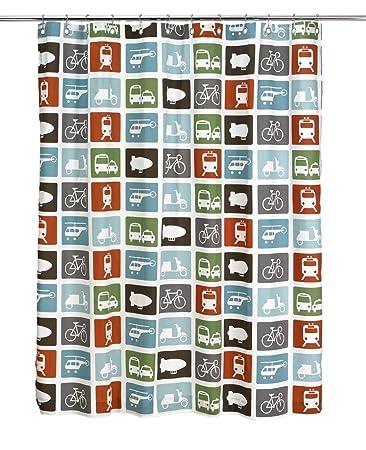 DwellStudio Baby Transportation Shower Curtain Discontinued By Manufacturer