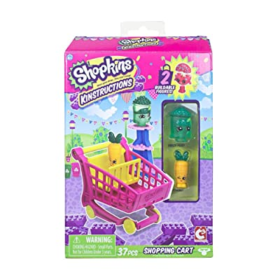 Shopkins Kinstructions Shopping Cart Style 2: Toys & Games